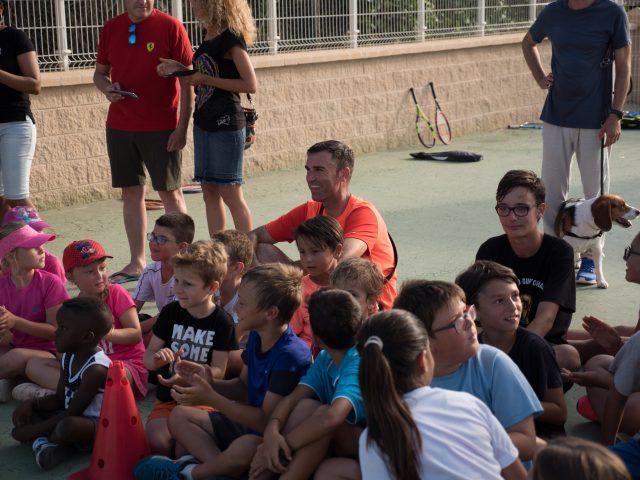 Club de Tenis Aguadulce/Entrega de trofeos