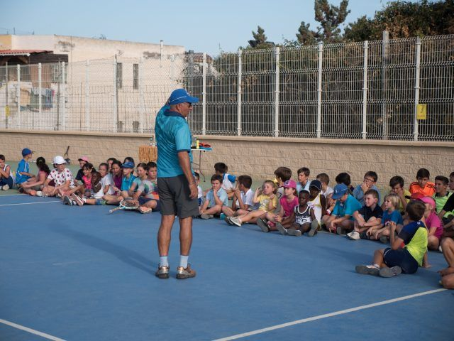 Club de Tenis Aguadulce/entrega trofeos