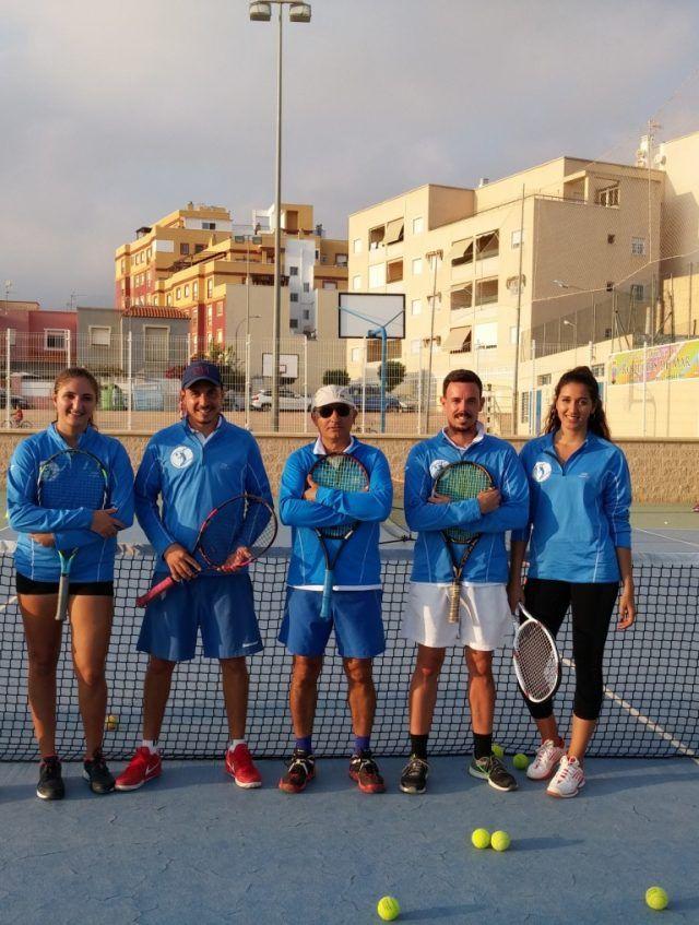 Club de tenis Aguadulce/equipo tecnico